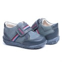 Picture of Memo Bambi 1CH Navy Blue Infant & Toddler Boy First Walking Orthopedic Velcro Sneaker
