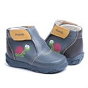 Picture of Memo  Franklin 3BC Gray Infant & Toddler Girl & Boy First Walking Orthopedic Velcro Boot