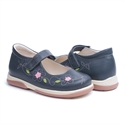 Picture of Memo Cinderela 3DA Navy Blue Youth Orthopedic Mary Jane Shoe