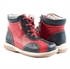 Picture of Memo Agat 3HA Red Black Toddler Girl & Boy Orthopedic Lace Up Boot