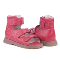 Picture of Memo Helios 3HA Red Girl & Boy Youth Orthopedic Velcro Sandal