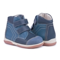 Picture of Memo Karat 3DA Navy Blue Toddler Boy Orthopedic Velcro Boot