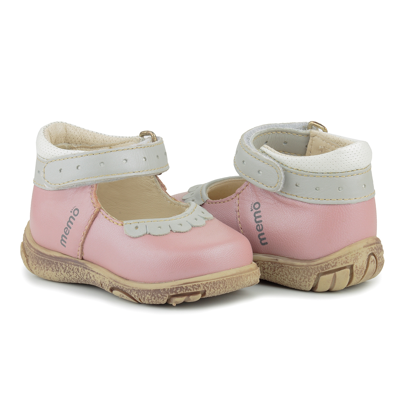 Memo Shoes. Memo Fiona 3JB Pink Infant & Toddler Girl ...