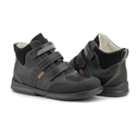Picture of Memo Polo 3LY Black Girl & Boy Youth Orthopedic Velcro Sneaker
