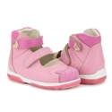 Picture of Memo PRINCESSA 3JE Pink Nubuk Toddler Girl Orthopedic Mary Jane Shoe