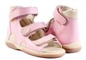 Picture of Memo Atena 3JB Pink Toddler Girl Orthopedic Velcro Sandal