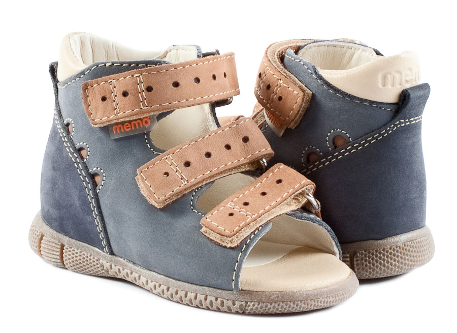 Memo Shoes Memo Dino Jeans First Walker Sandals