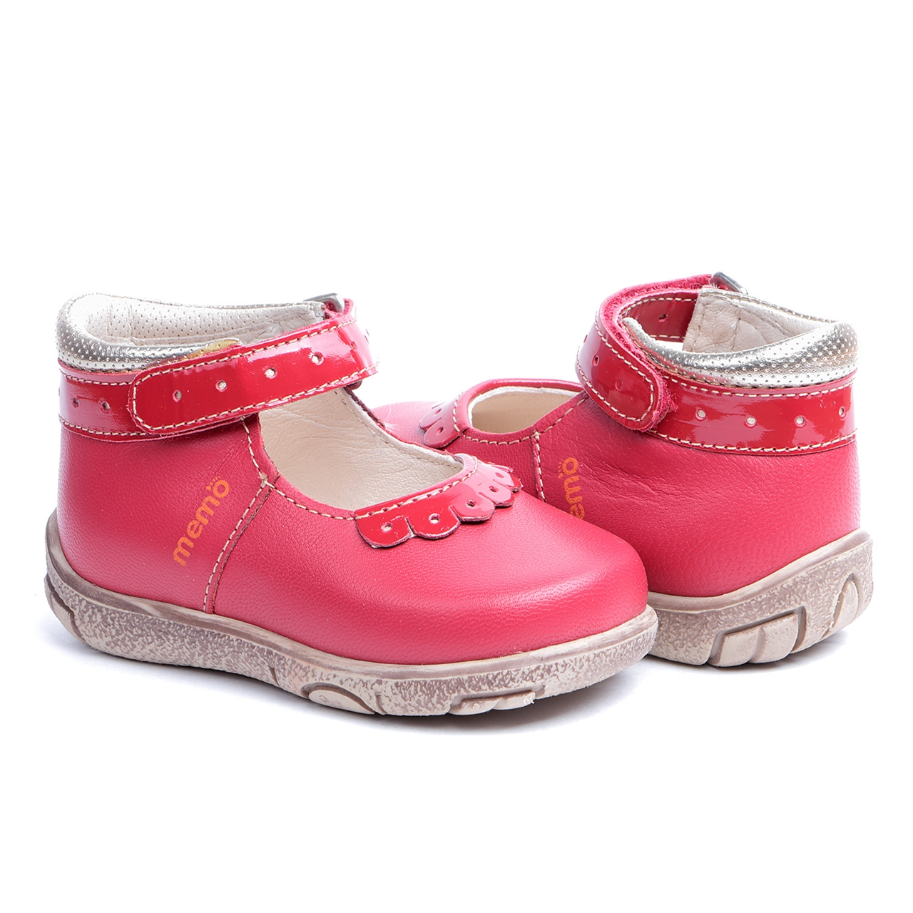 Memo Shoes Memo Fiona 3HA Red Infant & Toddler Girl First