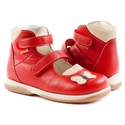 Picture of Memo Princessa 3HA Red Toddler Girl Orthopedic Mary Jane Shoe