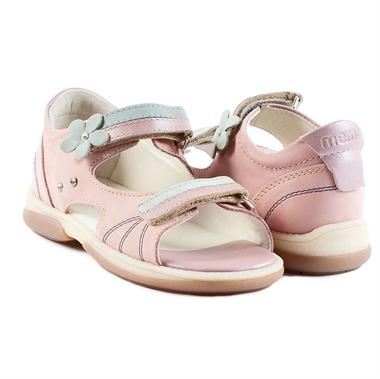 Picture of Memo Jaspis 1JB Pink-Blue Toddler Girl Orthopedic Velcro Sandal