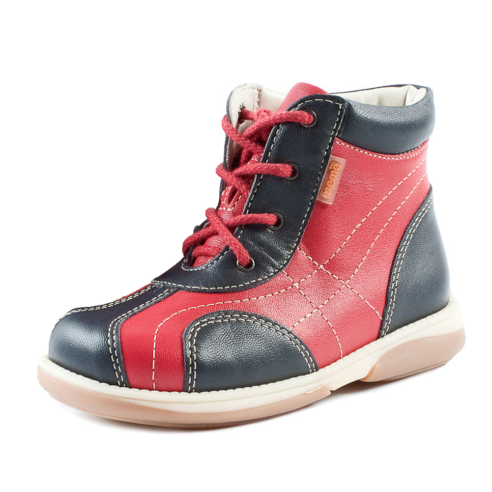 Memo Shoes. Memo Agat Red Boots — Memo-Shoes.com