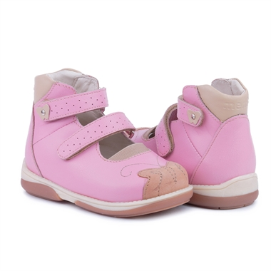 Picture of Memo  Princessa 3JB Pink Toddler Girl Orthopedic Mary Jane Shoe