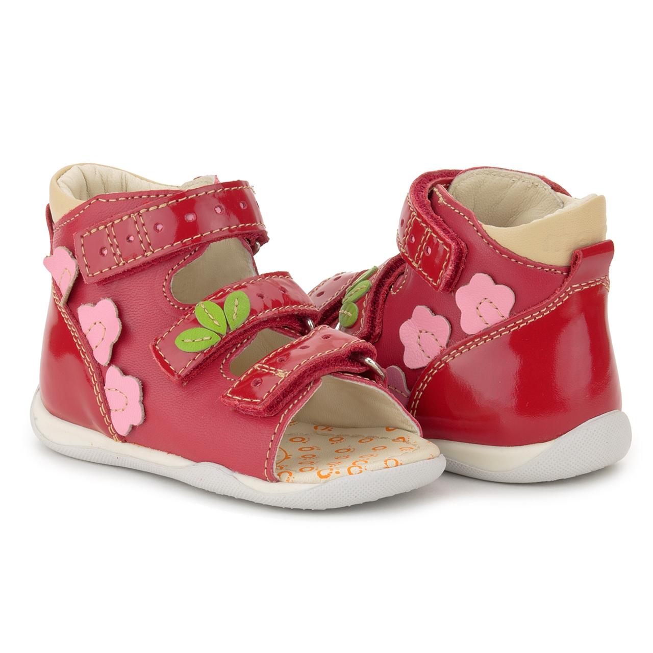 Memo Shoes Memo Dino 3HA Red Infant & Toddler Girl & Boy