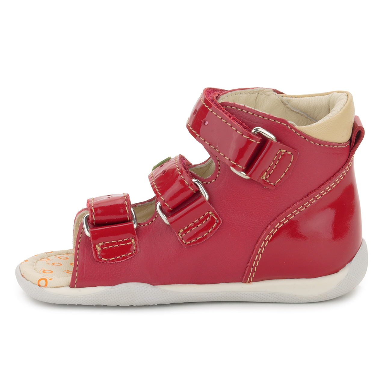 Memo Shoes Memo Dino 3HA Red Infant & Toddler Girl & Boy