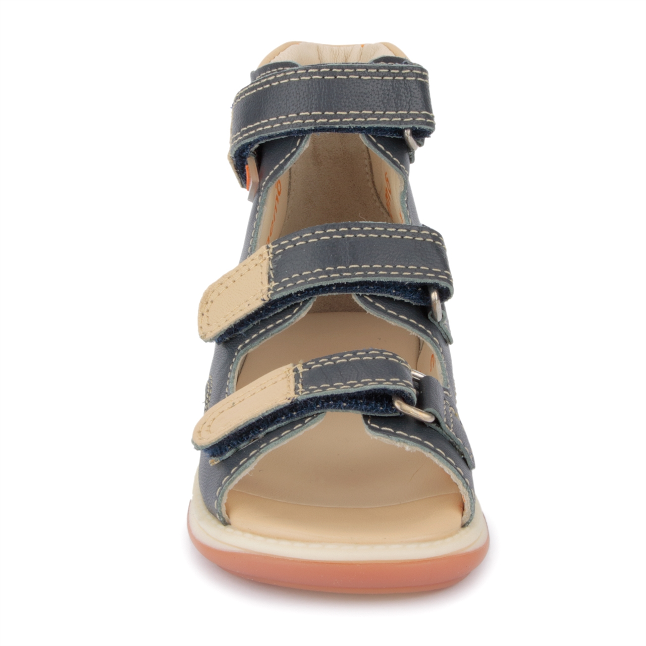 2b7ccab74361 ... Picture of Memo Apollo 3DA Black Toddler Boy Orthopedic Velcro Sandal  ...