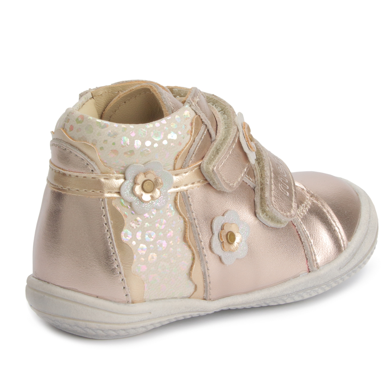 2095ac57d0 ... Picture of Memo Bella 3FD First Walking Orthopedic Girls Shoes Natural  Leather Sneakers (Toddler) ...