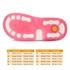 Picture of Memo Monaco 3JD Pink-Gray Toddler Girl Orthopedic Velcro Sandal