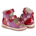 Picture of Memo Viki 3JE Dark Pink Toddler Girl Orthopedic Velcro Sandal
