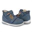 Picture of Memo Torino 3DA Navy Blue Toddler Boy Orthopedic Velcro Sandal
