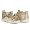 Picture of Memo Verona 3BE Beige Toddler Girl Orthopedic Velcro Sandal