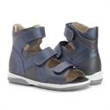 Picture of Memo Joanna Orthopedic Corrective Ankle Brace Sandal Navy Blue