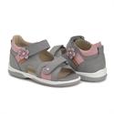 Picture of Memo Kristina Orthopedic Sandal for Flat Feet Kids, Grey